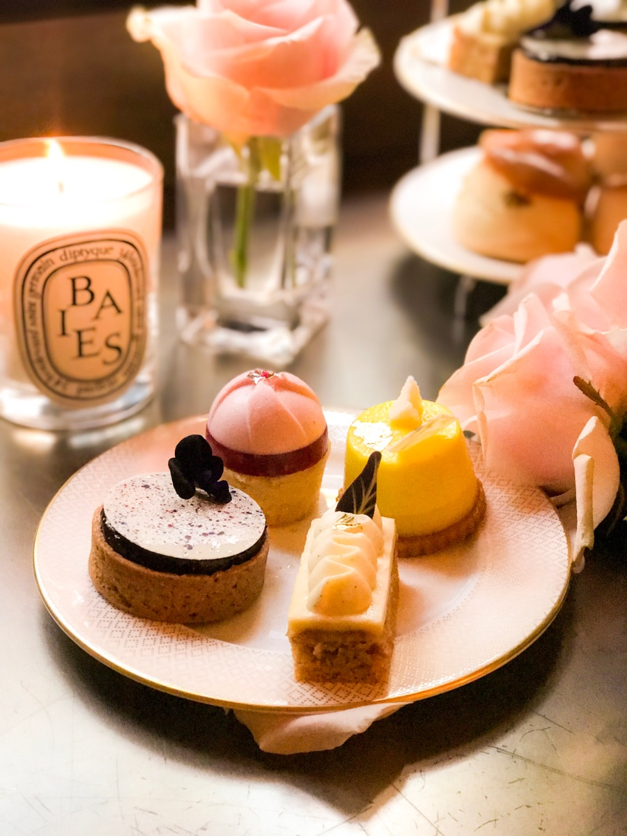 London Diaries: Diptyque Afternoon Tea at Hotel Café Royal